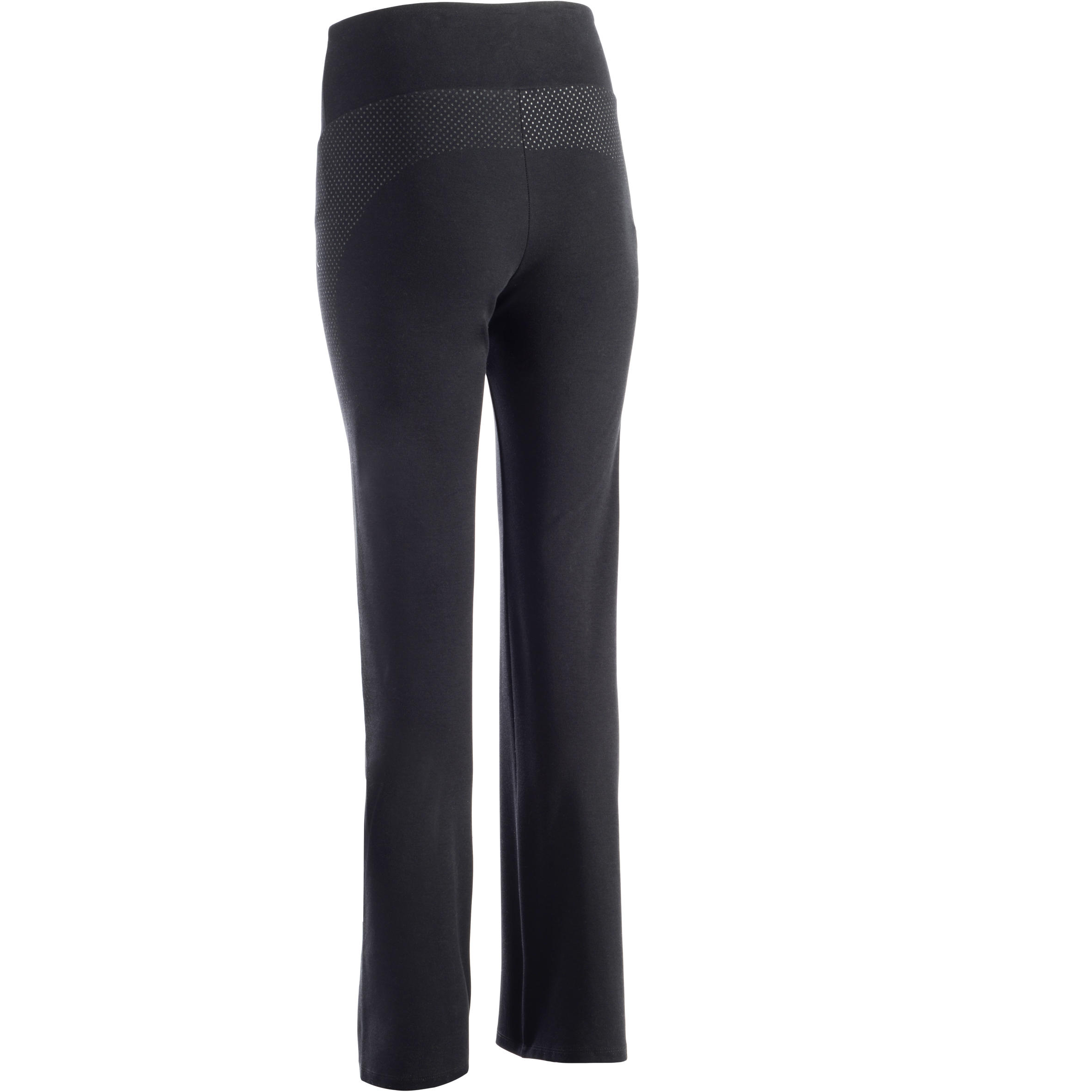 900 Women's Regular-Fit Stretching & Pilates Leggings - Black