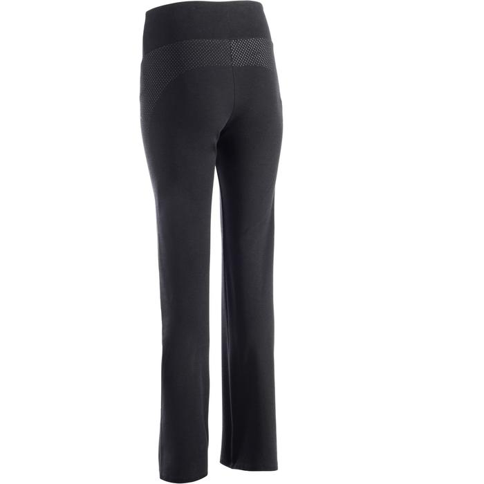 Leggings 900 Regular Gym Stretching & Pilates Damen schwarz