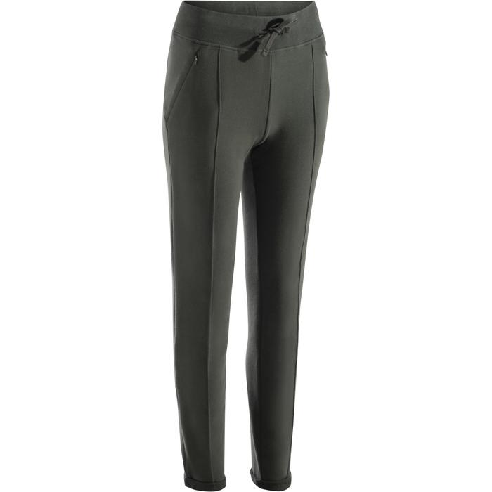 Pantalon 920 slim Gym & Pilates femme - 1273137