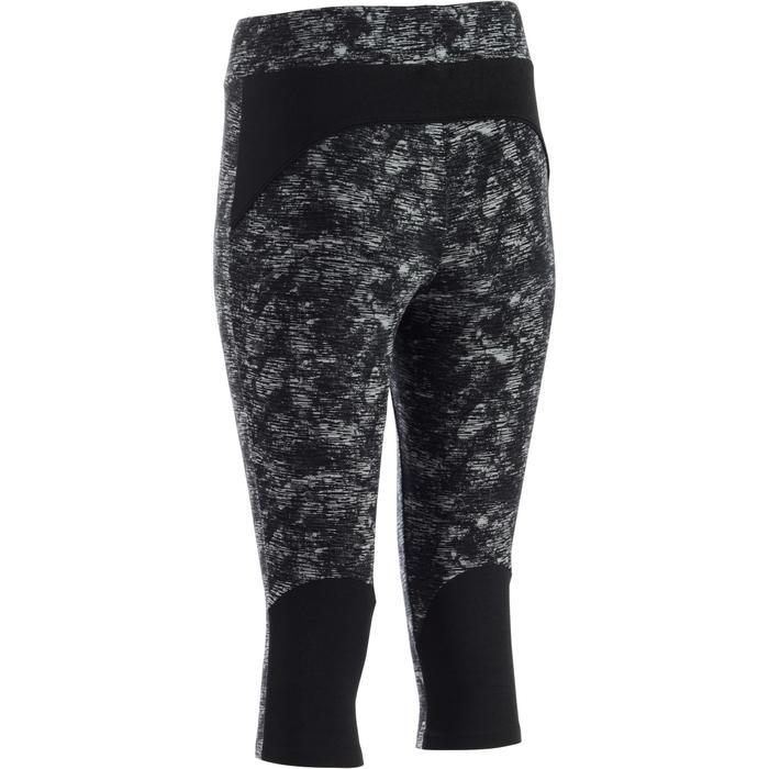 Corsaire 520 Gym & Pilates femme noir imprimé - 1273143