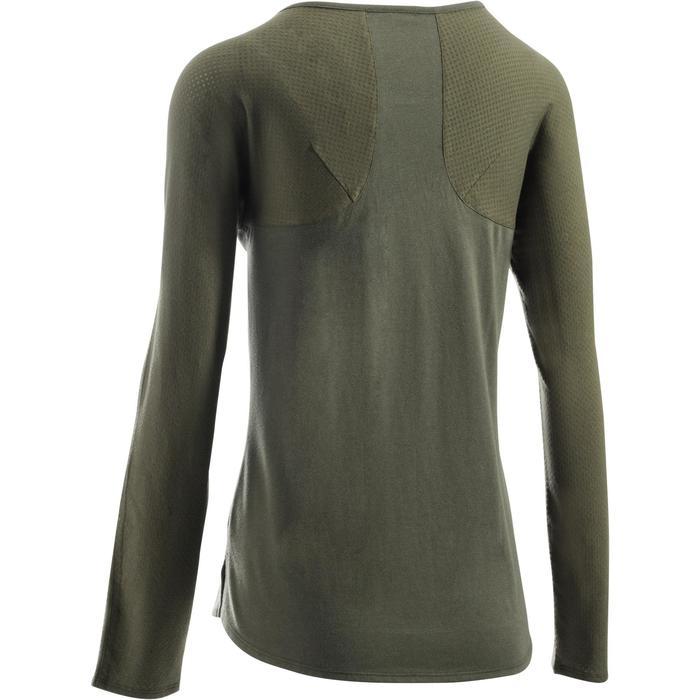 T-Shirt 900 manches longues Gym & Pilates Femme - 1273158