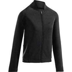 920 Women's Gym & Pilates Jacket - Mottled Dark Grey