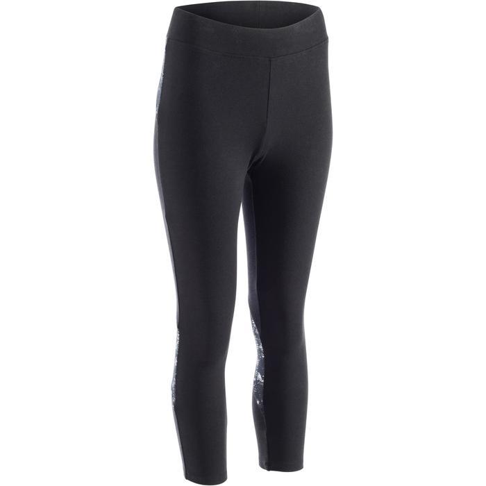 Legging 7/8 520 Gym & Pilates femme  noir - 1273186