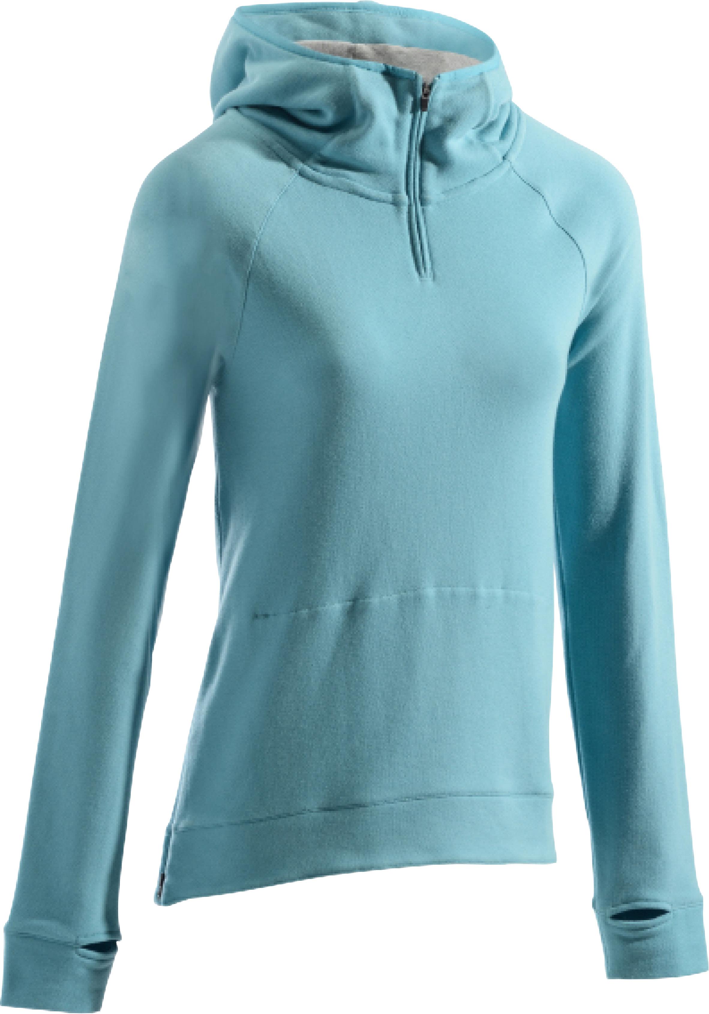 Pilates Capuche Bleu 900 Femme Glacier Sweat Gymamp; Shirt ED2WIH9