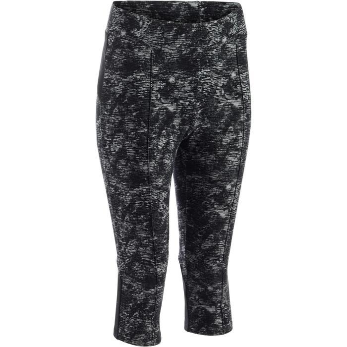 Corsaire 520 Gym & Pilates femme noir imprimé - 1273234