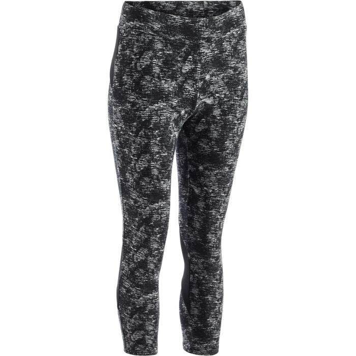 Legging 7/8 520 Gym & Pilates femme gris chiné - 1273241
