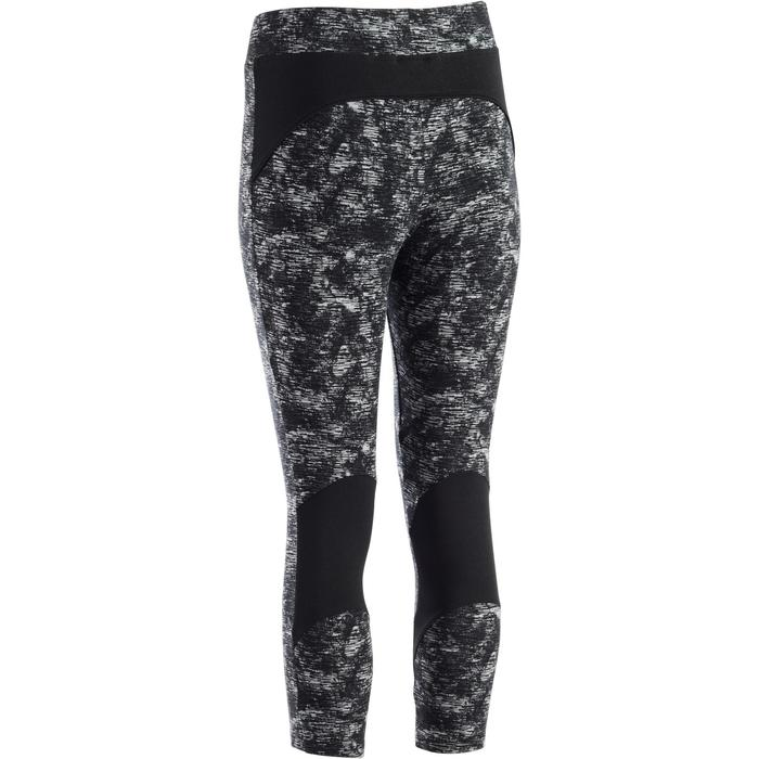 Legging 7/8 520 Gym & Pilates femme gris chiné - 1273269