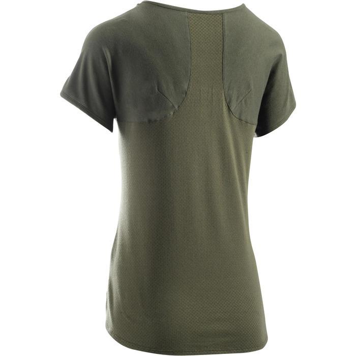 T-Shirt 900 manches courtes Gym & Pilates femme - 1273314