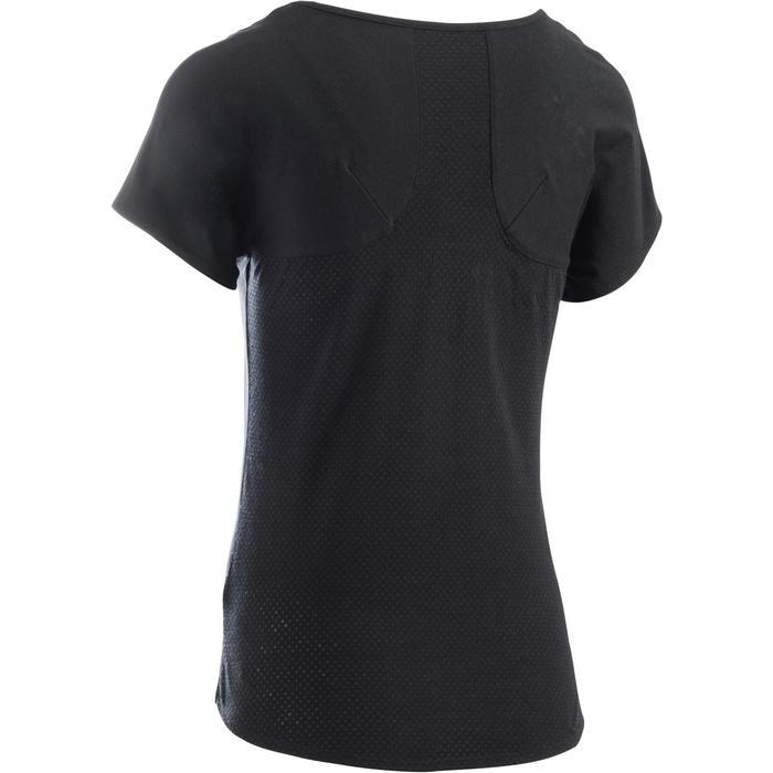 T-Shirt 900 manches courtes Gym & Pilates femme - 1273350