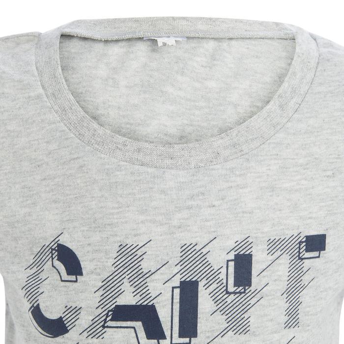 Lot x2 T-Shirt 100 manches courtes Gym Baby imprimé bleu gris - 1273374