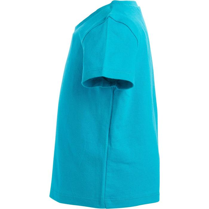 Lot x2 T-Shirt 100 manches courtes Gym Baby imprimé blanc bleu - 1273429