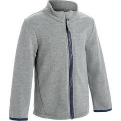 100 Baby Gym Jacket - Grey/Blue