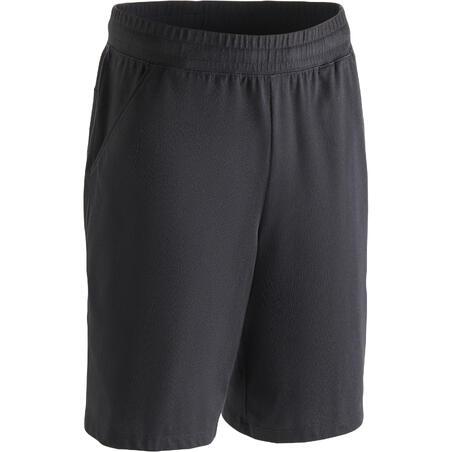 Short 500 regular por encima de las rodillas gimnasia y pilates hombre negro