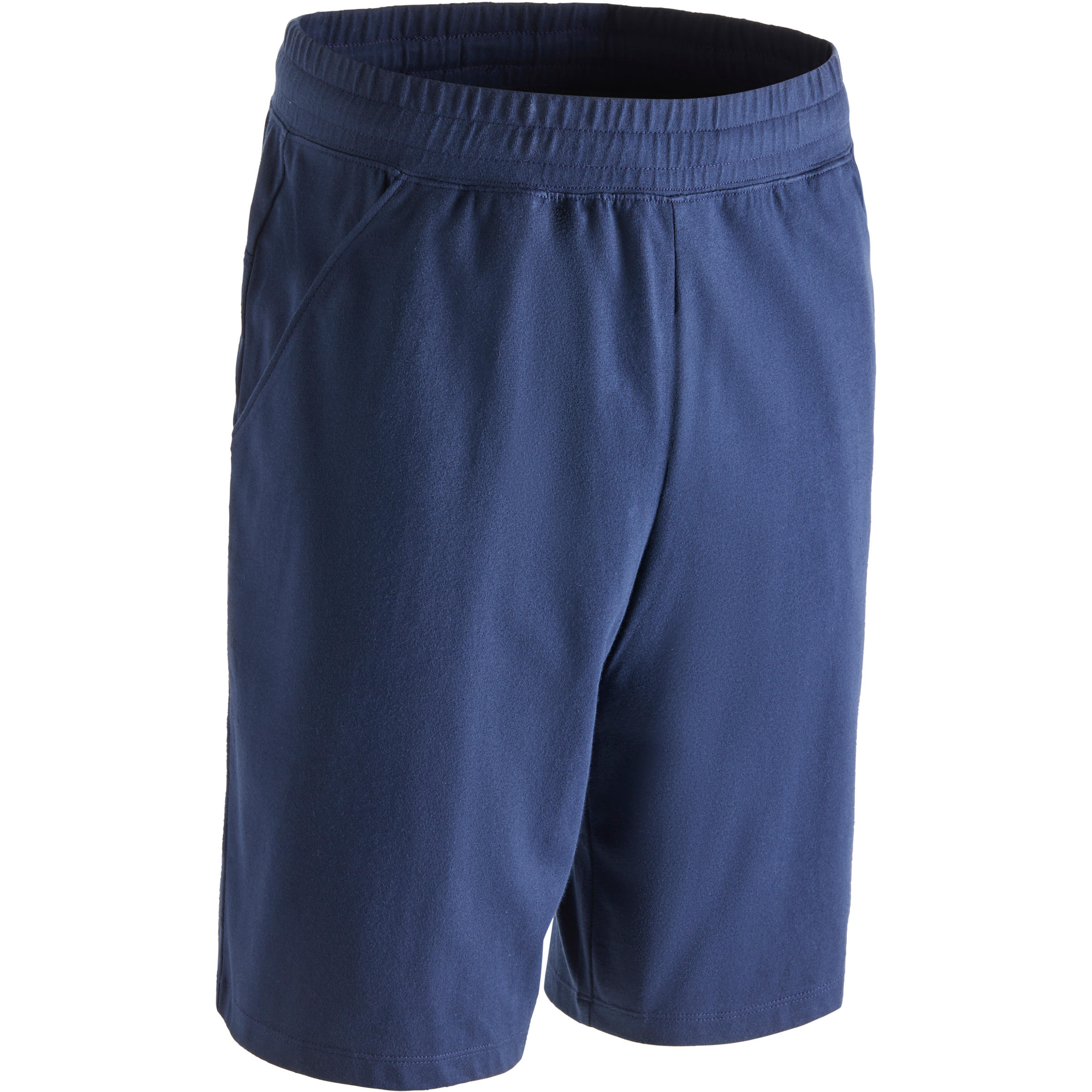 Short500 regular largo encima de rodillas gimnasia y pilates hombre azul marino