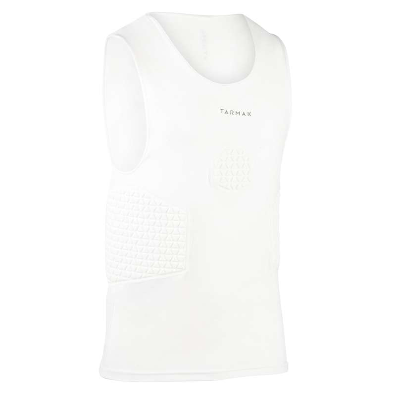 MAN BASKETBALL OUTFIT Basketball - Protective Jersey - White TARMAK - Basketball Clothes