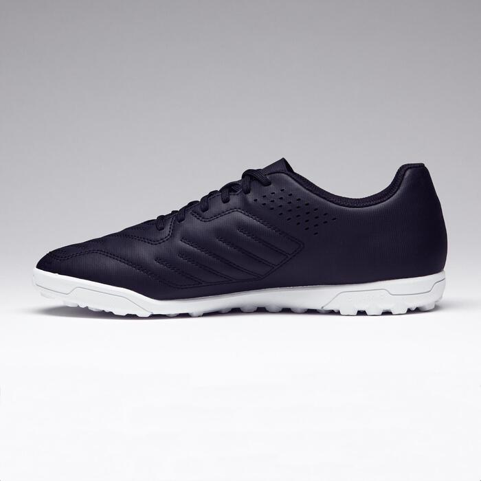 Chaussure de football adulte terrains durs Agility 100 HG noire blanche - 1273534