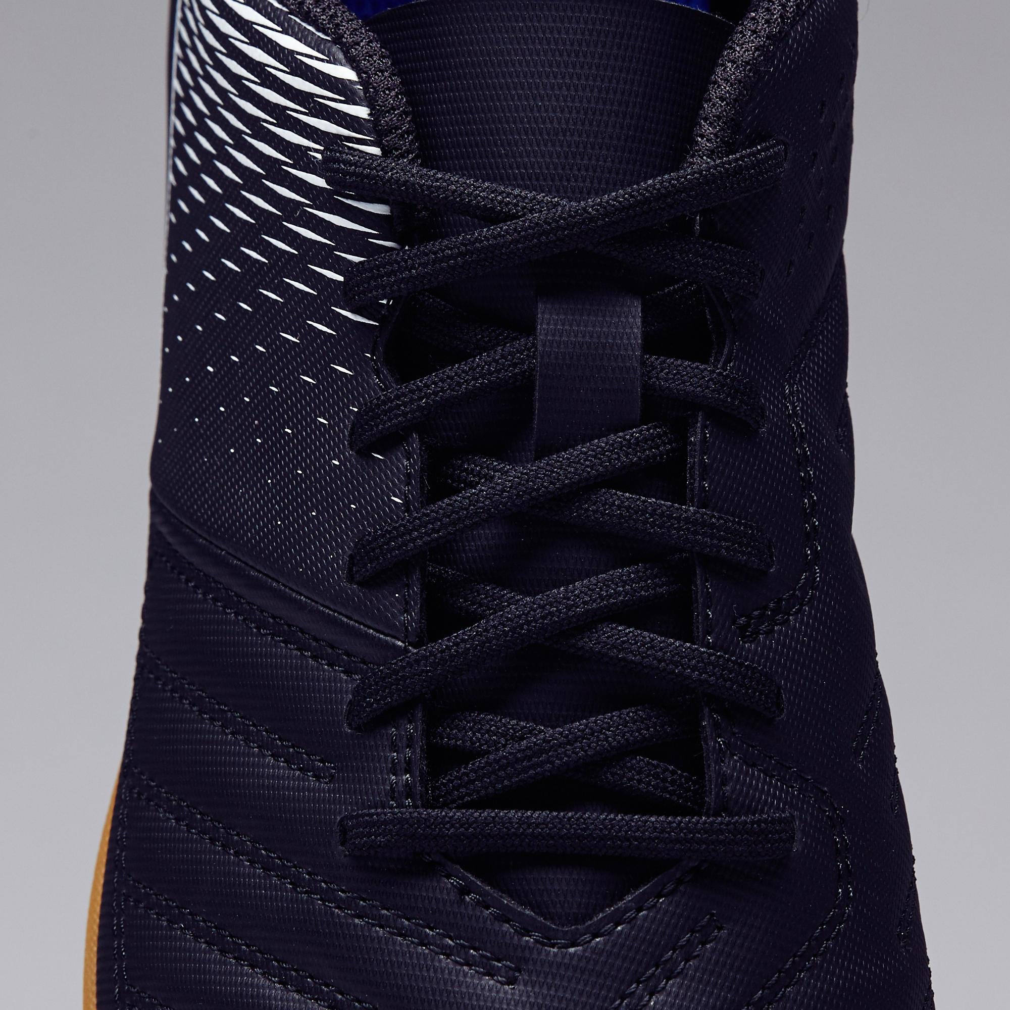 Men's Football Shoes Agility 100 HG - Black/White