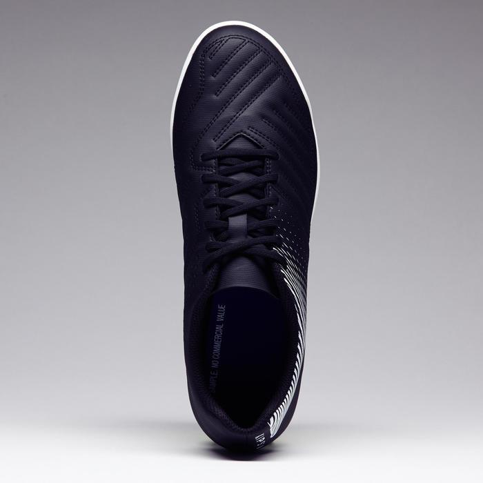 Chaussure de football adulte terrains durs Agility 100 HG noire blanche - 1273537