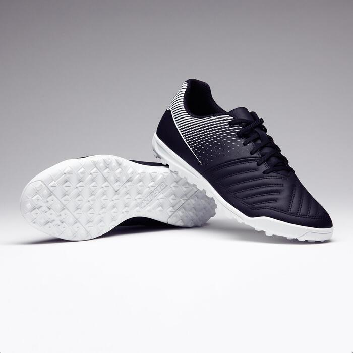 Voetbalschoenen voor volwassenen hard terrein Agility 100 HG zwart/wit