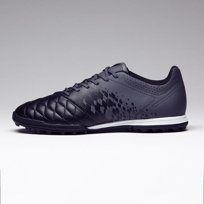 Chaussure de football adulte terrains durs Agility 700 HG noire grise - 1273558