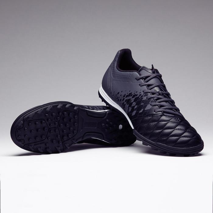 Chaussure de football adulte terrain dur Agility 700 HG noire grise