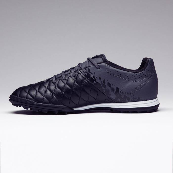 Chaussure de football adulte terrains durs Agility 700 HG noire grise - 1273560