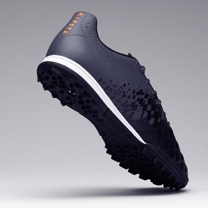 Chaussure de football adulte terrains durs Agility 700 HG noire grise - 1273566