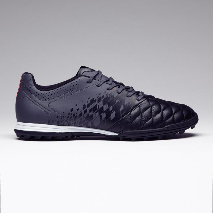 Chaussure de football adulte terrains durs Agility 700 HG noire grise - 1273570