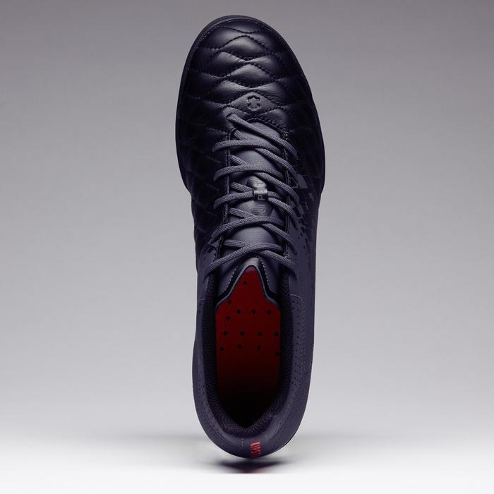 Chaussure de football adulte terrains durs Agility 700 HG noire grise - 1273571