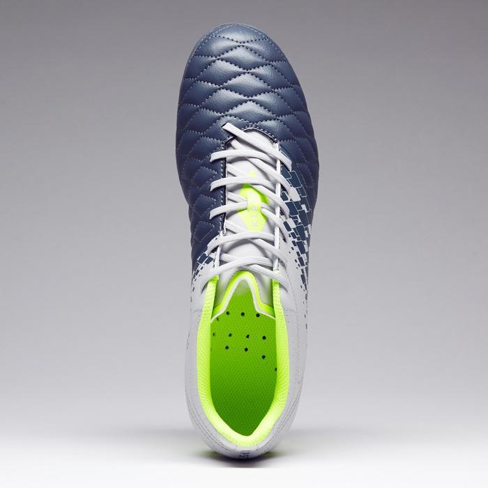 Chaussure de football adulte terrains secs Agility 500 FG bleue - 1273575