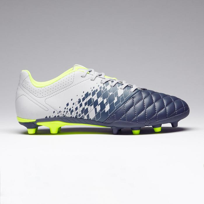Chaussure de football adulte terrains secs Agility 500 FG bleue - 1273577