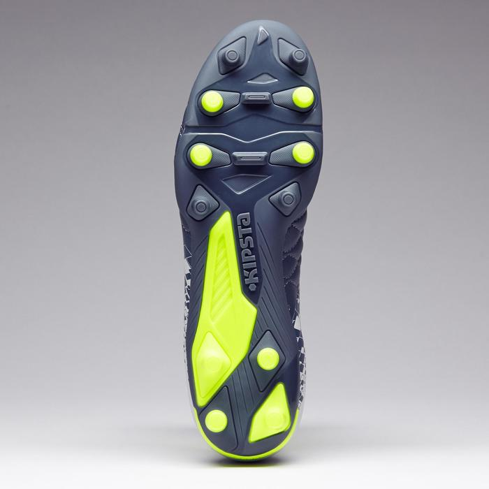 Chaussure de football adulte terrains secs Agility 500 FG bleue - 1273579