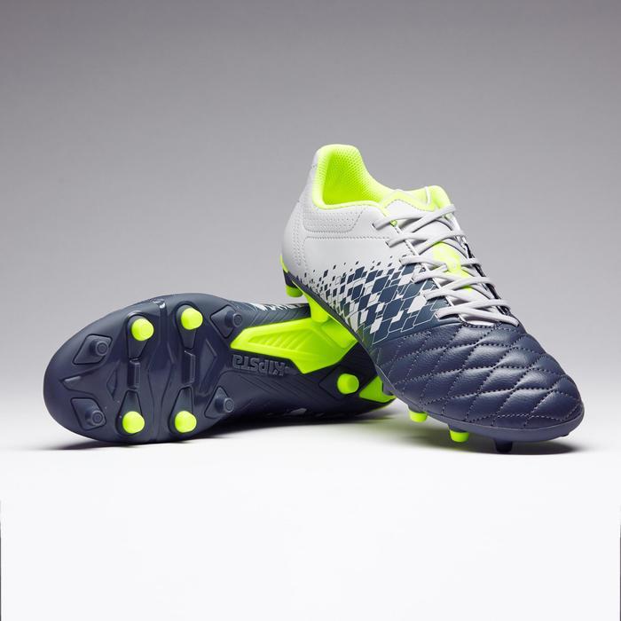 Chaussure de football adulte terrains secs Agility 500 FG bleue - 1273585
