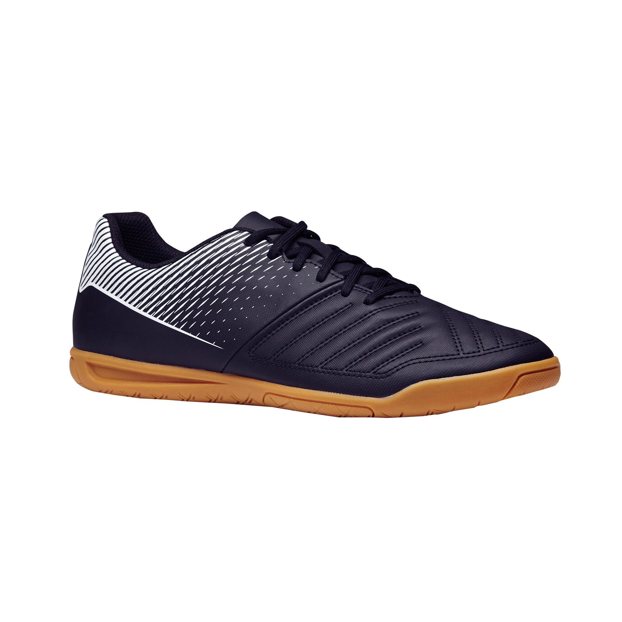 Chaussure de futsal adulte Agilité 100 sala noire jaune