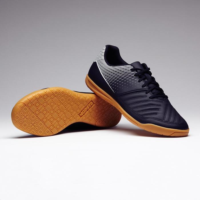 Zapatillas de fútbol sala Agility 100 negro amarillo
