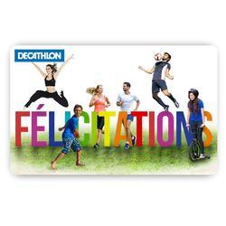 E Carte Cadeau Félicitations - 1273601