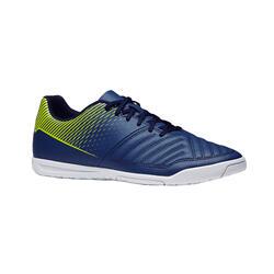 48a8142818a Men s Futsal Shoes Agility 100 - Blue Yellow
