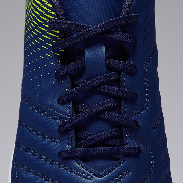 Zapatillas de fútbol sala para adulto Agility 100 sala azul y amarillo