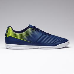 Chaussures de Futsal Agility 100 bleue jaune