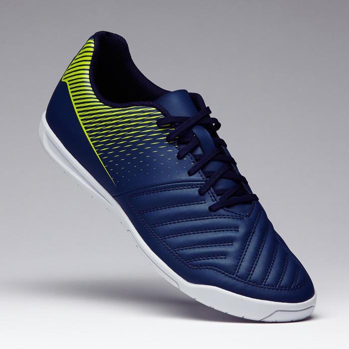 Zaalvoetbalschoenen Agility 100 blauw