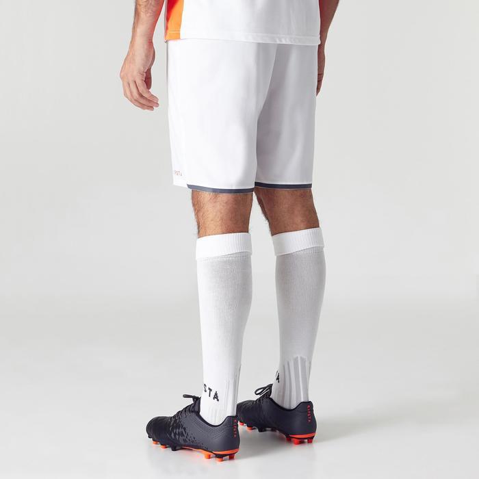 Voetbalshort voor volwassenen F500 wit