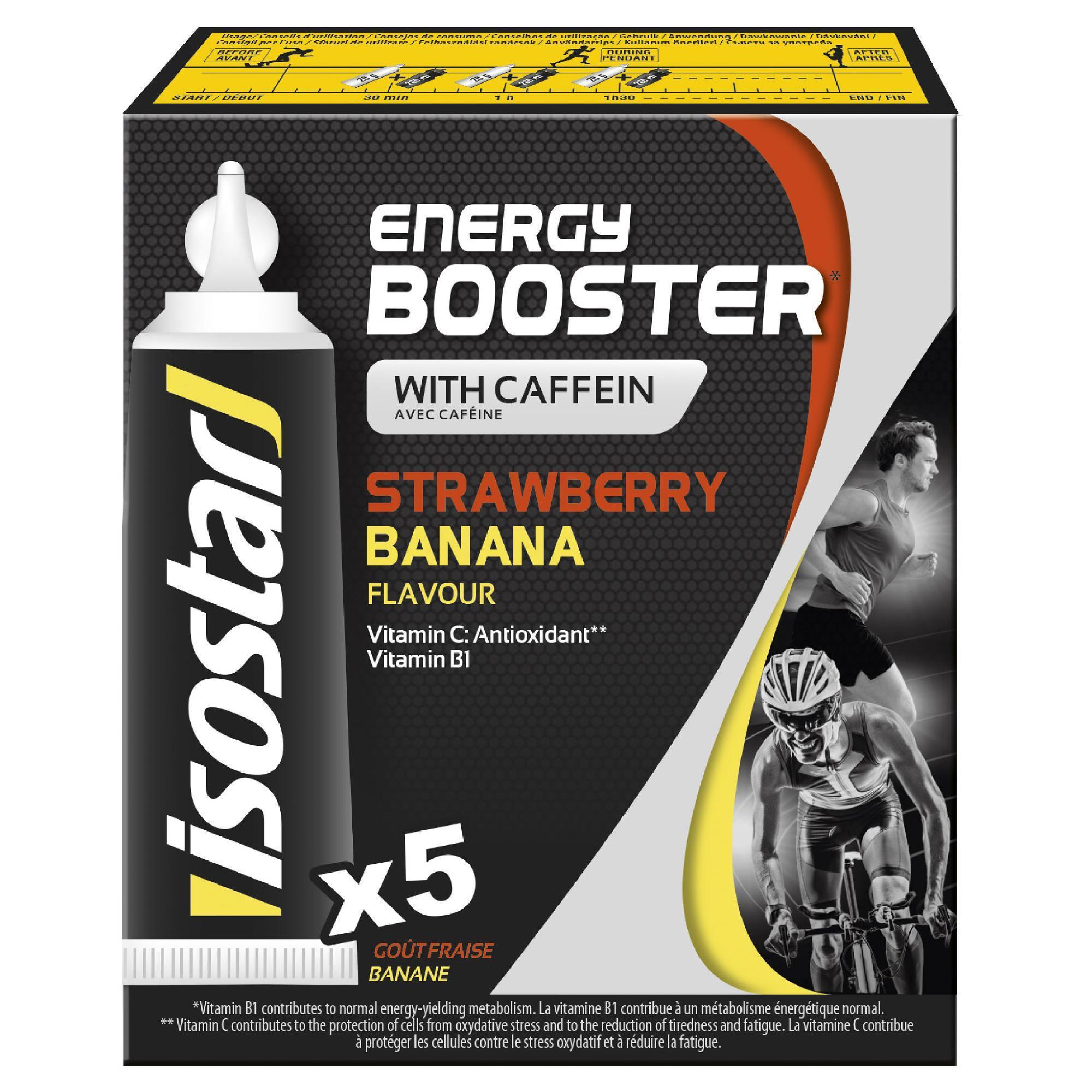 Energygel Energy Booster Erdbeer/Banane 5 x 20 g