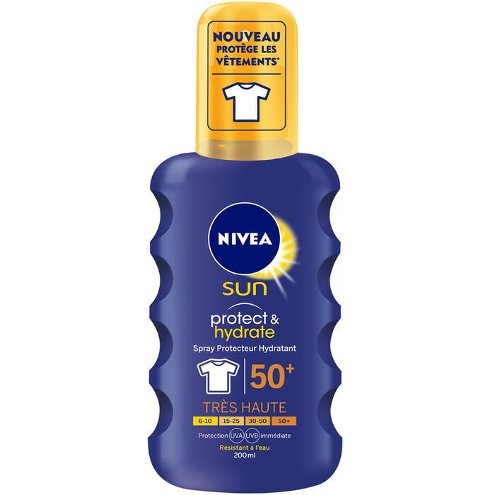 Crème de protection solaire NIVEA SPRAY SOLAIRE IP50+ 200ml - 1273873