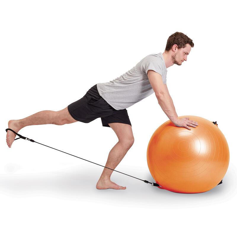 swiss ball 120 pilates large elastice domyos by decathlon