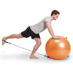 Gymnastikball 120 Pilates L mit Griffen