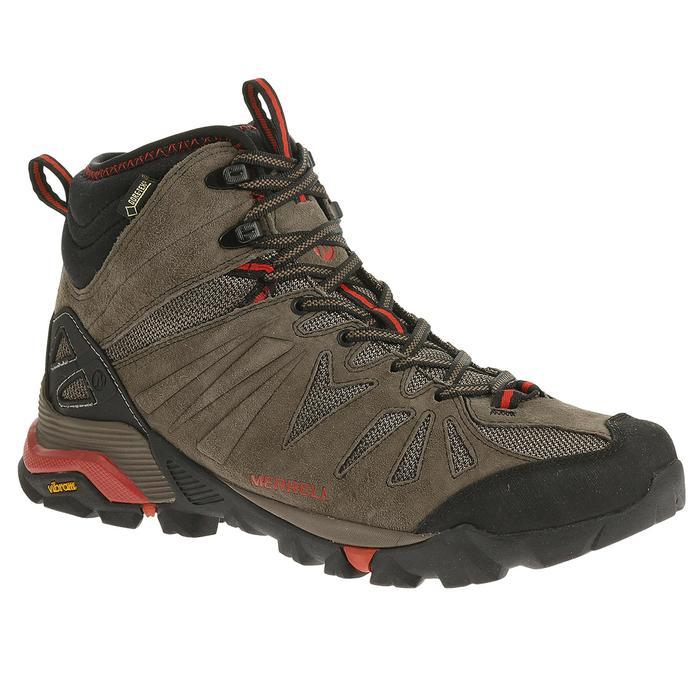 Chaussures de randonnée montagne homme Merrell Capra Mid GTX - 1273903