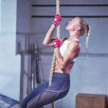 Guante training Adidas climalite Rosa