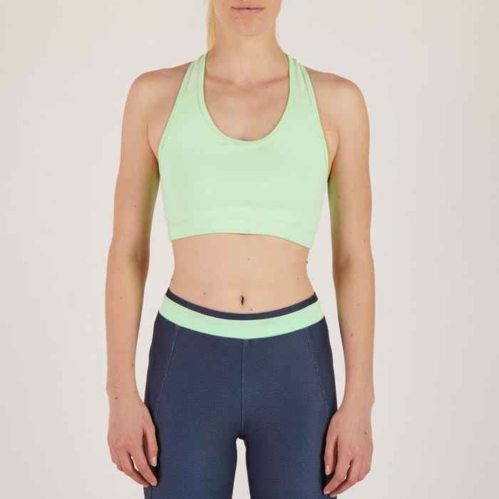 Brassière fitness cardio-training femme 100 - 1274397