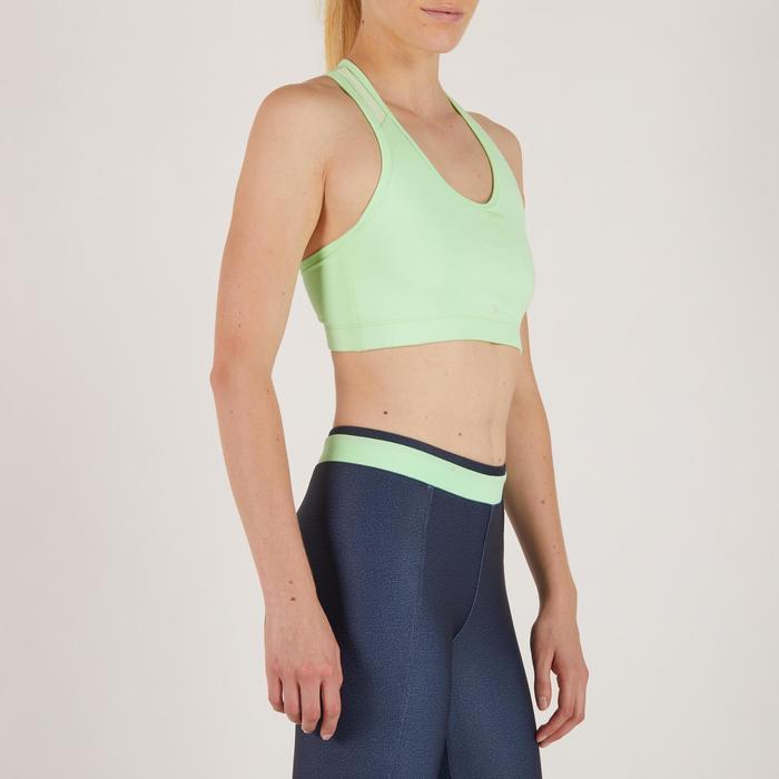 Brassière fitness cardio-training femme 100 - 1274406