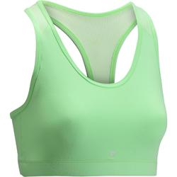 100 Women's Cardio Fitness Bra - Mint Green